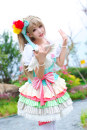Cosplay women's wear skirt goods in stock Over 14 years old Clothes + wig + crown + socks clothes + wig crown + socks comic L M S XL lovelive