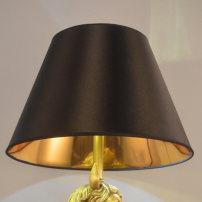 light fittings  ESPEROSANG 111V ~ 240V (including) 0059 black outside and gold inside Lampshade