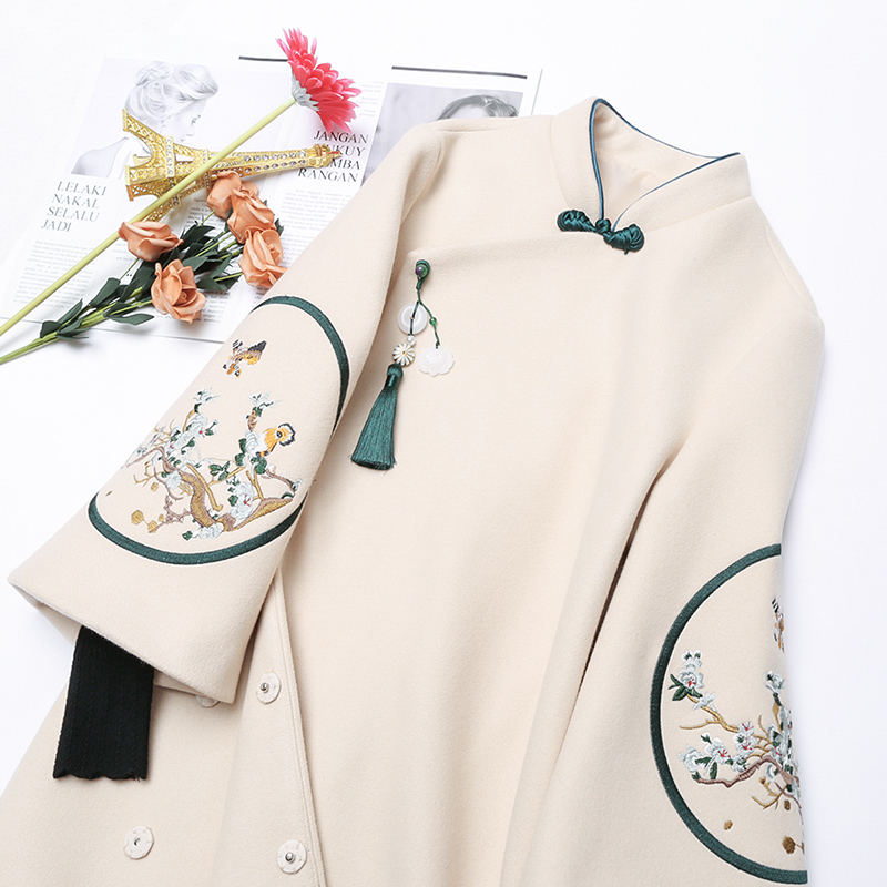 jacket Winter of 2018 Improved cheongsam (pre sale) SMLXLXXL one thousand nine hundred and sixty-seven Magic heart commune 25-35 years old Other 100% Pure e-commerce (online only)