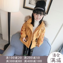 Cotton padded jacket Other / other Yellow green Tag 100 is about 90cm, tag 110 is about 100cm, tag 120 is about 110cm, tag 130 is about 120cm, tag 140 is about 130cm, tag 150 is about 135cm nothing other female routine Zipper shirt Korean version There are models in the real shooting other other