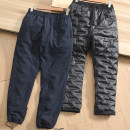 Down pants Other / other 212a13 dark blue, 212a13 black M,L,XL,2XL,3XL,4XL,5XL,6XL Fashion City trousers Wear out