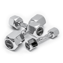 dumbbell Hexagonal steel dumbbell 2kg * 2 pieces = 4kg 5kg * 2 pieces = 10kg 8kg * 2 pieces = 16KG 4 / 10 / 16KG full set dumbbell frame Rhododendron simsii Electroplating dumbbell Practice arm muscles Hexagonal steel dumbbell male
