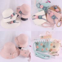 Hat Average size Reference 2-7 years old, head circumference 48-51cm, 10 years old - Adult female Fisherman hat dome leisure time Other / other Big eaves other C254 Cherry Blossom Daisy