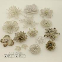 Pearl / diamond / flower and other accessories Coquettish 1 6cm, 2 5.5cm, 3 4.5cm, 4 4 cm, 5 7.5cm, 6 7.5cm, 8 6.5cm, 9 4 cm, 10 4cm, 11 5 cm, 12 2.5cm, 3.8 yuan, 2 pieces, 13 4.5cm, 14 5 * 4cm