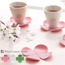 Coaster circular Pink yellow red purple green blue brown other Self made pictures At home Korean style Cartoon E9939 no