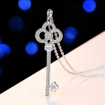 Necklace Alloy / silver / gold 101-200 yuan Yinao The key to success brand new Japan and South Korea female goods in stock yes Fresh out of the oven no