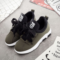canvas shoe MENGTEDISI Low Gang Dark army green dark grey black pink army green 35 36 37 38 39 40 Autumn of 2018 Frenulum Korean version rubber Solid color Youth (18-40 years old) Cross strapping platform c833 Adhesive technology