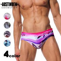 Men's swimsuit AUSTINBEM M-2 XL-4 S-1 L-3 218 series of poems and paintings