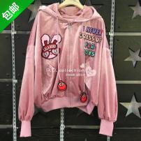 short coat Autumn of 2018 S160 M165 L170 717 rose shadow powder Labobo labobo L02C-WWJW26
