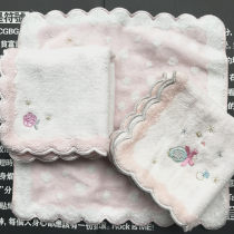 Handkerchief / handkerchief 1 2 3 25x25cm currency 30g public
