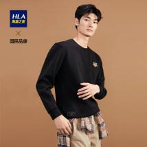 Sweater Fashion City HLA / Hailan home Black F4 165/84A/S 170/88A/M 175/92A/L 180/96A/XL 185/100A/XXL 190/104A/XXXL Socket other Crew neck winter youth