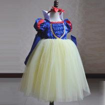 Children's dress Skirt + gloves + hair band Cape female 2-3 years old, 4-5 years old, 6-7 years old, 8-9 years old, 10-11 years old Tang Lu