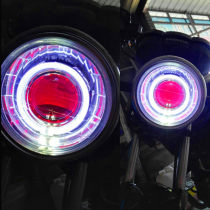 Xenon lamp for motorcycle Chinese Mainland Being proud Light bulb: Round lamp assembly