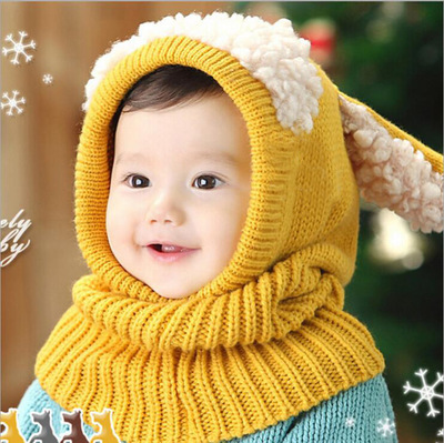 Multiple sets of hats, scarves, gloves, etc Other / other Red ~ one piece cap collar pink ~ one piece cap collar yellow ~ one piece cap collar Lake Blue ~ one piece cap collar Khaki ~ one piece cap collar Cap circumference (46-51cm, 6-3 years old recommended) PF02