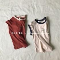 T-shirt Beige rust red Other / other 100cm 110cm 120cm 130cm 140cm neutral summer Short sleeve Crew neck Pure cotton (100% cotton content)
