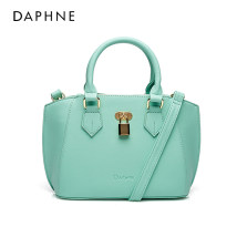 Bag The single shoulder bag PU other Daphne / Daphne Pink green 151 yellow 131 pink 112 pink orange 125 Sweet Lady  large leisure time soft Solid color One shoulder cross carry other inside pocket with a zipper one billion fifteen million three hundred and eighty-three thousand and fifteen 2015