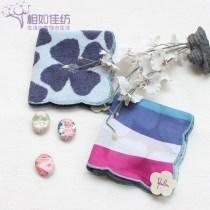 Handkerchief / handkerchief Stripes 25x25cm female B2 up
