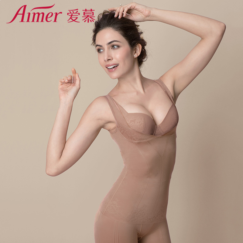 Body shaping top The skin color is black Adoration one hundred and fifty-five billion one hundred and sixty million one hundred and sixty-five thousand one hundred and seventy Sleeveless Solid color AM35FG1 Autumn and winter 2016 Polyamide fiber (nylon) 79% polyurethane elastic fiber (spandex) 21%