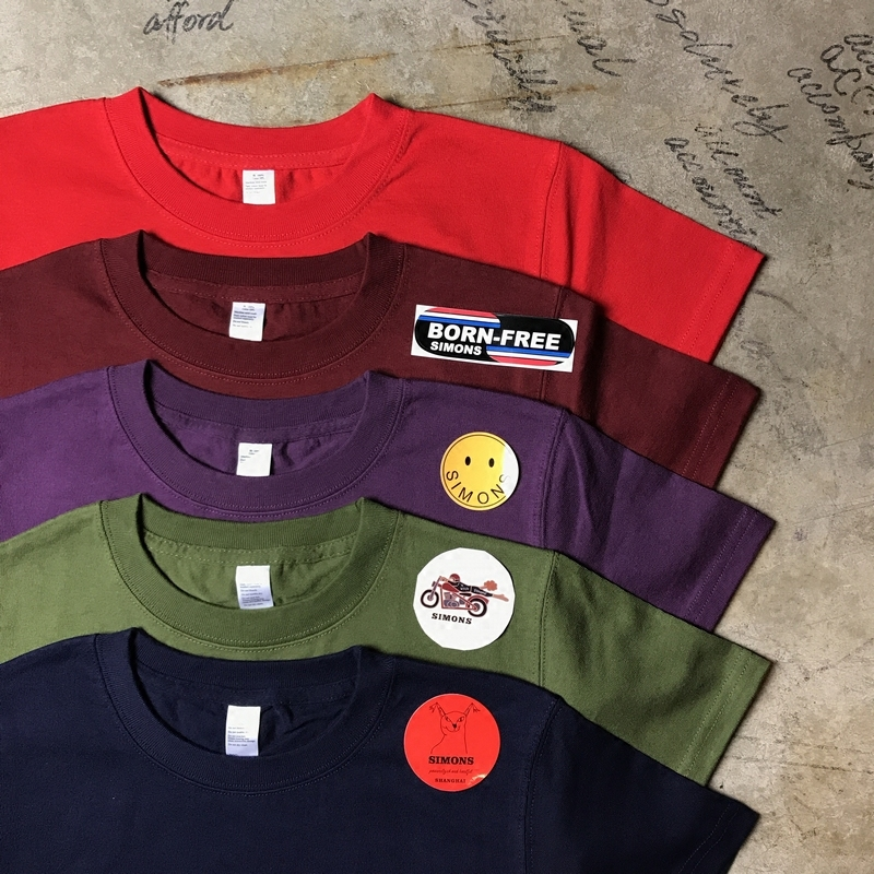 T-shirt Fashion City Army crimson indigo purple green thick Others Short sleeve Crew neck standard daily Four seasons Cotton 100% youth routine other