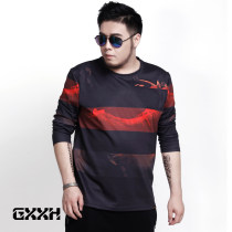T-shirt Fashion City T10063c red routine 6XL GxxH T10063c Polyester 95% polyurethane elastic fiber (spandex) 5% other Spring 2017