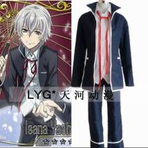 Cosplay men's wear suit goods in stock Tianhe animation Over 14 years old Suit + pants + shirt + Red Ribbon suit + pants wig L m s XL small