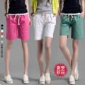 Casual pants White yellow green blue black apricot rose red S M L XL 2XL 3XL 4XL Summer 2016 Pant Wide leg pants High waist commute Thin money hemp