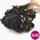 Hair accessories Hair rope 0.01-0.99 yuan Other / other black brand new Japan and South Korea Fresh out of the oven other Not inlaid