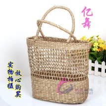 Bag handbag grass Small square bag Yiwu Style 1 style 2 style 3 brand new ethnic style leisure time no Double root youth Soft handle
