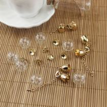 Other DIY accessories Other accessories other 0.01-0.99 yuan 18mm hollow glass ball one 18mm hollow glass ball + belt chain clause (one set) 18mm hollow glass ball + simple style (one set)
