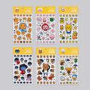 Stickers KAKAO FRIENDS Stickers Ryan bear lion peach cat Frodo dog rabbit tube duck decorate
