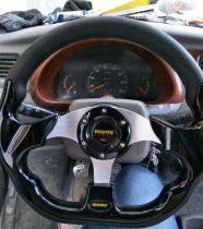 Steering wheel bdszj Silver carbon fiber black original black yellow red blue