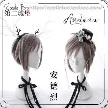 Cosplay accessories Wigs / Hair Extensions goods in stock Castletoo, the second Castle Ct051 + sending network Average size