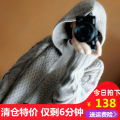 Wool knitwear Collect and purchase coupons after contacting customer service Fall of 2018 Gray Black Camel Long sleeve Cardigan Long section Single
