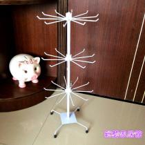 Jewelry display rack 51-100 yuan Create omen 70cm white three layers 70cm black three layers brand new 001