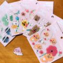 Stickers KAKAO FRIENDS Decorative stickers RYAN APEACH NEO MUZI TUBE FRODO decorate