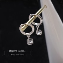 Ear Studs Silver ornaments 51-100 yuan Xiangnan 925 Silver Love Magic Earrings (2 prices) 925 Silver Love Magic Earrings (1 price) brand new Japan and South Korea female goods in stock Fresh out of the oven A-105 925 Silver