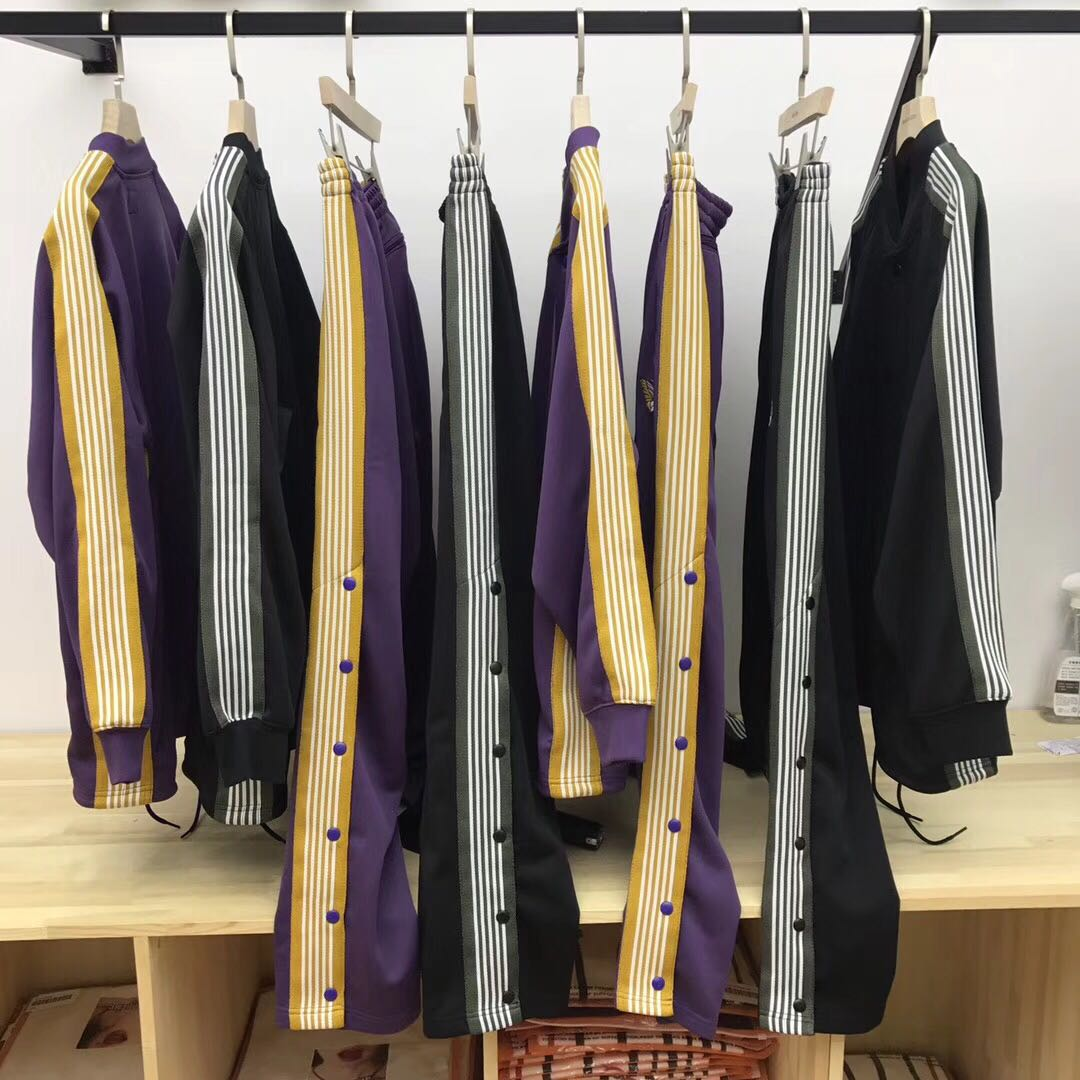 Leisure sports suit autumn Coat XS coat S coat M trousers L trousers, XS trousers, S trousers, M trousers, L black purple Other / other Long sleeve