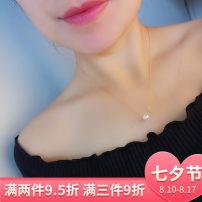 Neckwear necklace Freshwater Pearls Circular 6.5-7mm 7-7.5mm 7.5-8mm 8-8.5mm 8.5-9mm 9.5-10mm 10-10.5mm 40cm 45cm