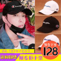 Hat Cotton polyester adjustable spring, summer, autumn, winter Cap Universal street Dome Teenager Couple Youth letter Short-term other CHAMPION