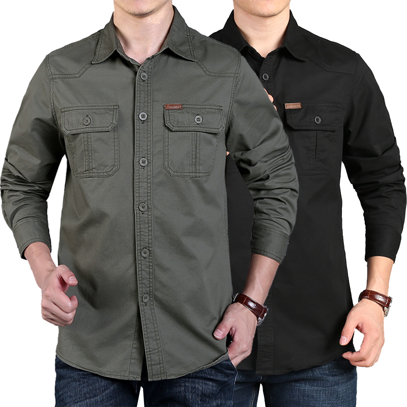 shirt other Nianjeep / Jeep shield L 9998 Khaki routine N8658 Cotton 100% Fall 2017 Pure e-commerce (online only)