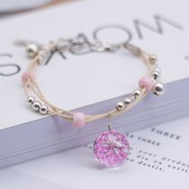 Bracelet other RMB 1.00-9.99 Other / other brand new goods in stock Japan and South Korea female Fresh out of the oven Not inlaid Plants and flowers
