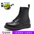 Boots top layer leather micle.martens/ Michael Martin Middle heel (3-5cm) Horseshoe heel top layer leather Short tube Round head No interior Pig skin