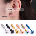 Ear Studs Alloy / silver / gold RMB 1.00-9.99 Other / other Japan and South Korea lovers Biscuits / cakes / snacks