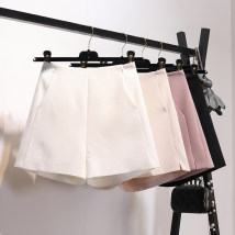Casual pants Pink White Black apricot S M L Summer of 2018 shorts Wide leg pants High waist commute routine 25-29 years old 96% and above 803D-0475
