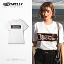T-shirt Youth fashion white routine S M L XL 2XL 3XL HEYBIG Short sleeve Crew neck standard daily summer THDX2817AR Cotton 100% teenagers routine 2018 other cotton washing More than 95%