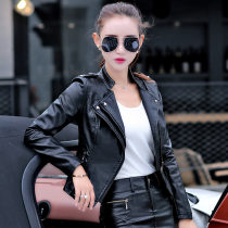 leather clothing Fall of 2018 Regular show thin style plus cotton autumn and winter style SML XL 2XL 3XL Card poem DE Short paragraph Self-cultivation
