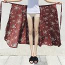 skirt Summer of 2018 Average size 02-01 29-05 02-03 12-06 12-07 12-08 12-09 12-11 12-12 12-14 12-18 12-22 12-27 12-29 12-40 12-41 12-45 12-A3 12-A7 12-A9 29-03 29-04 02-02 01-04 Mid length dress Versatile High waist A-line skirt 18-24 years old three thousand six hundred and nine Chiffon