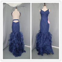 Dress / evening wear Wedding adult party company annual meeting performance M Navy c941 Netting
