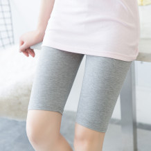 Leggings Summer of 2018 White light grey black dark grey Large size (for 116-145 kg) large size (for 140-170 kg) average size Thin money shorts C201 25-29 years old pure cotton 81% (inclusive) - 90% (inclusive)