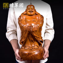 Wood carving character Height: 38cm height: 48CM height: 58cm support to order larger size (please contact customer service) Redwood Putian woodcarving circular engravure Neoclassical Qingcuiyuan qcy-10180